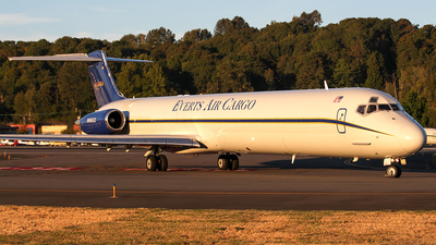 N965CE - McDonnell Douglas MD-83(SF) - Everts Air Cargo