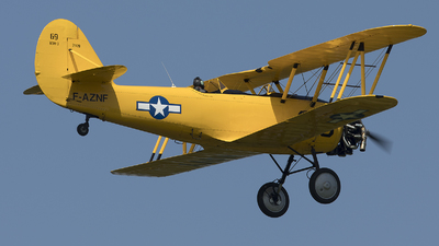 F-AZNF - Naval Aircraft Factory N3N-3 Yellow Peril - Private
