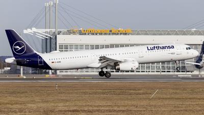 D-AIDB - Airbus A321-231 - Lufthansa