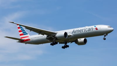 A picture of N721AN - Boeing 777323(ER) - American Airlines - © Angelo Harmsworth
