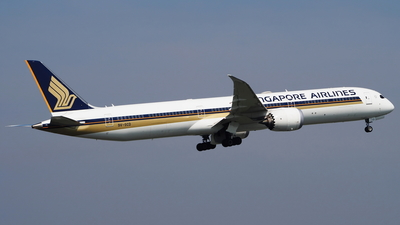 9V-SCD - Boeing 787-10 Dreamliner - Singapore Airlines