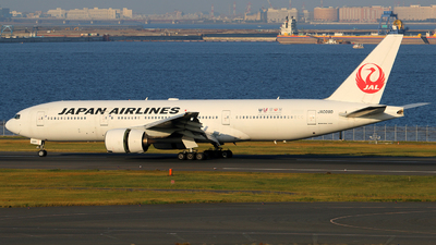 JA009D - Boeing 777-289 - Japan Airlines (JAL)