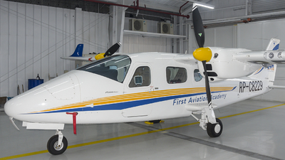 RP-C8229 - Tecnam P2006T Mk II - First Aviation Academy