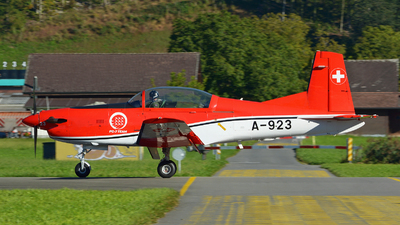 A-923 - Pilatus PC-7 - Switzerland - Air Force