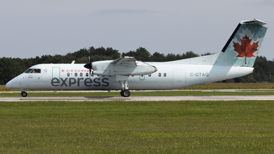 A picture of CGTAG - De Havilland Canada Dash 8300 - Air Canada - © Shon Fridman