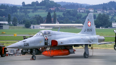 J-3026 - Northrop F-5E Tiger II - Switzerland - Air Force