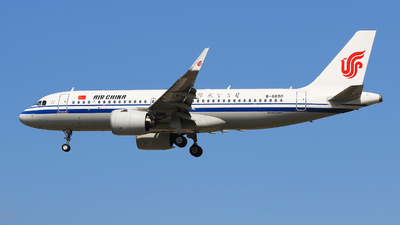 B-8890 - Airbus A320-271N - Air China