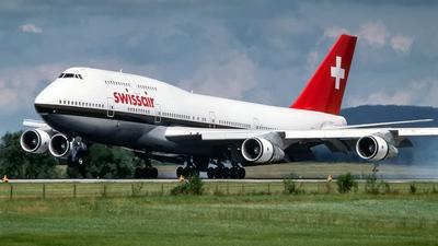 HB-IGF - Boeing 747-357 - Swissair