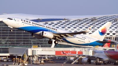 A picture of B6982 - Boeing 73783Z - Donghai Airlines - © Eddie Heisterkamp