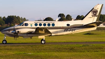 PP-FOY - Beechcraft 100 King Air - Brazil - Government of Mato Grosso do Sul