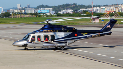9M-WAW - Agusta-Westland AW-139 - Weststar Aviation Services