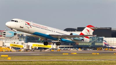 OE-LVO - Fokker 100 - Austrian Arrows
