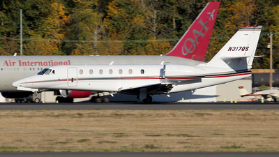 N317QS - Cessna 680 Citation Sovereign - NetJets Aviation
