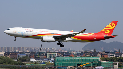 A picture of B8118 - Airbus A330343 - Hainan Airlines - © XPHNGB
