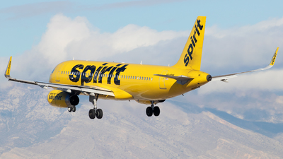 N649NK - Airbus A320-232 - Spirit Airlines
