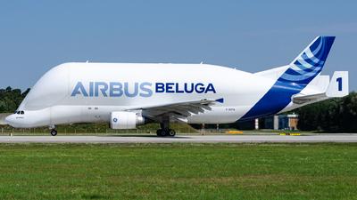 F-GSTA - Airbus A300B4-608ST Super Transporter - Airbus Transport International