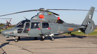 43 - Eurocopter AS 365N3 Dauphin - Lithuania - Air Force