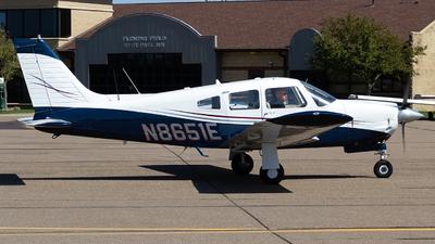 A picture of N8651E - Piper PA28R200 - [28R7635193] - © Jeremy D. Dando
