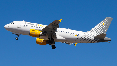 A picture of ECMKX - Airbus A319112 - Vueling - © Luciano Silva
