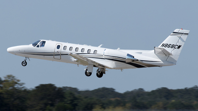 N868CW - Cessna 560 Citation Encore - Private