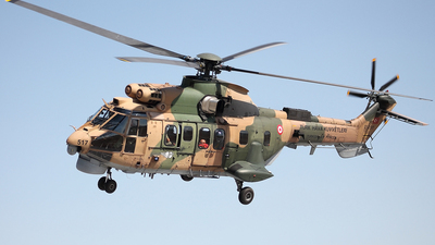 01-2517 - Eurocopter AS 532UL Cougar - Turkey - Air Force
