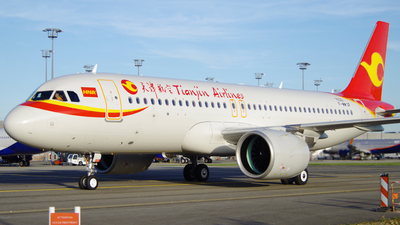 F-WWDF - Airbus A320-271N - Tianjin Airlines