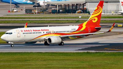 A picture of B5465 - Boeing 73784P - Hainan Airlines - © Miaomiao