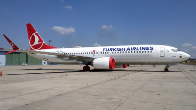 A picture of TCLCE - Boeing 737 MAX 8 - Turkish Airlines - © Mustafa Sandikci