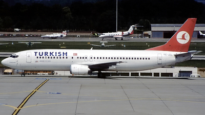 TC-JEL - Boeing 737-4Q8 - Turkish Airlines