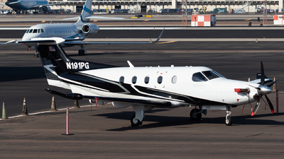 N191PG - Pilatus PC-12/47E - Private
