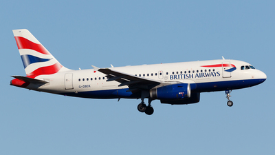 G-DBCK - Airbus A319-131 - British Airways