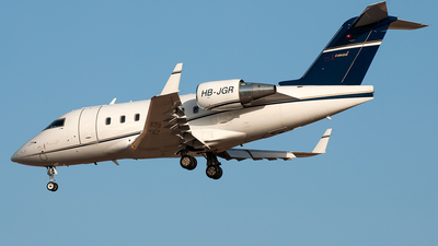 HB-JGR - Bombardier CL-600-2B16 Challenger 604 - Nomad Aviation