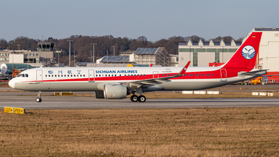 D-AVZW - Airbus A321-271NX - Sichuan Airlines