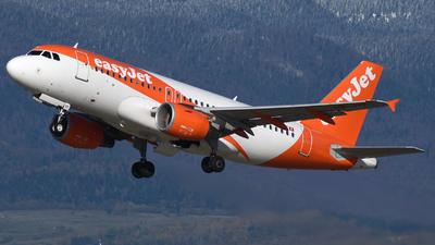 HB-JYF - Airbus A319-111 - easyJet Switzerland