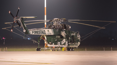I-CFAH - Sikorsky S-64F Skycrane - Italy - Forestale