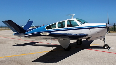 ZS-JJZ - Beechcraft V35B Bonanza - Private