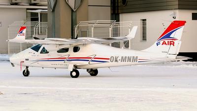 OK-MNM - Tecnam P2006T - F-Air Flight School