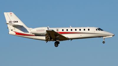 OE-GMM - Cessna 680 Citation Sovereign - Magna Air