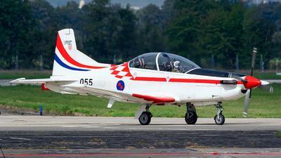 055 - Pilatus PC-9M - Croatia - Air Force