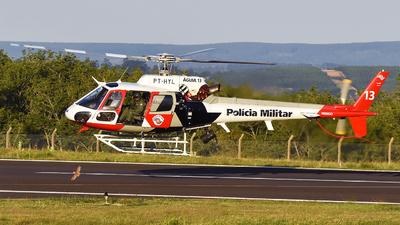 PT-HYL - Helibrás AS-350B2 Esquilo - Brazil - Military Police of São Paulo State