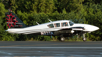N23TA - Piper PA-23-250 Aztec F - Private