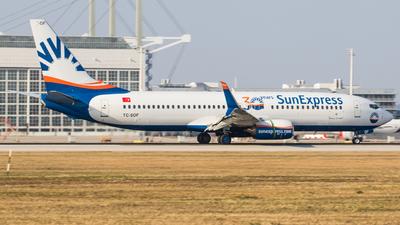 A picture of TCSOF - Boeing 7378HC - SunExpress - © TG Aviation Spotter