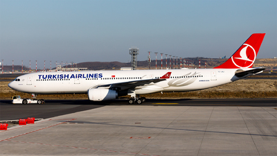 A picture of TCJNJ - Airbus A330343 - Turkish Airlines - © Ömür Sadikoglu