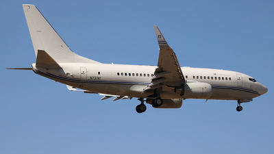 N737AT - Boeing 737-7HJC(BBJ) - Hillwood Airways