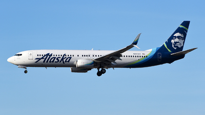 A picture of N317AS - Boeing 737990 - Alaska Airlines - © Rocky Wang