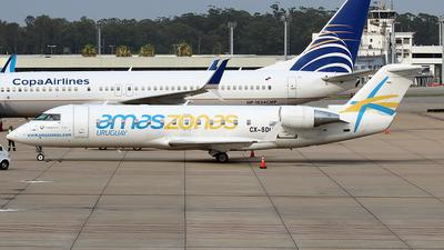 CX-SDU - Bombardier CRJ-200LR - Amaszonas Uruguay