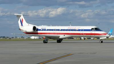 A picture of N843AE - Embraer ERJ140LR - [145680] - © Craig L Baldwin