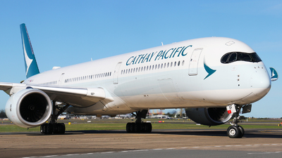 A picture of BLXF - Airbus A3501041 - Cathay Pacific - © Tim Bowrey
