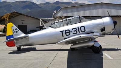 FAE20310 - North American T-6G Texan - Ecuador - Air Force