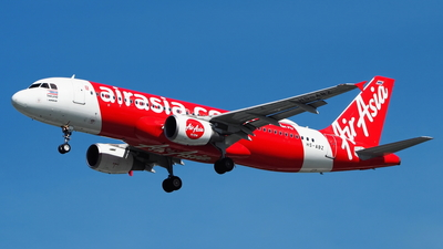 A picture of HSABZ - Airbus A320216 - AirAsia - © toeychincha